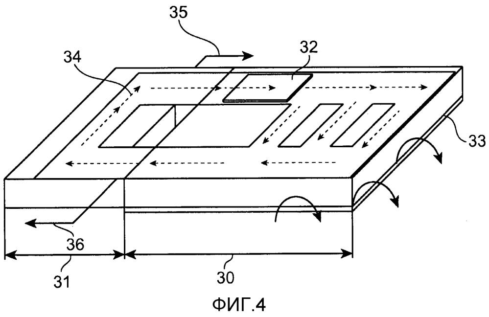 Электронное устройство с охлаждением через распределитель с жидким металлом