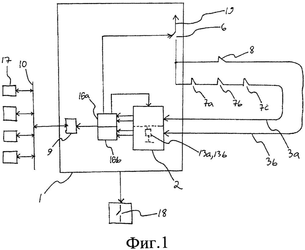 Интерфейсный блок, транспортировочная система и способ контроля рабочего состояния входной схемы в схеме обеспечения безопасности транспортировочной системы