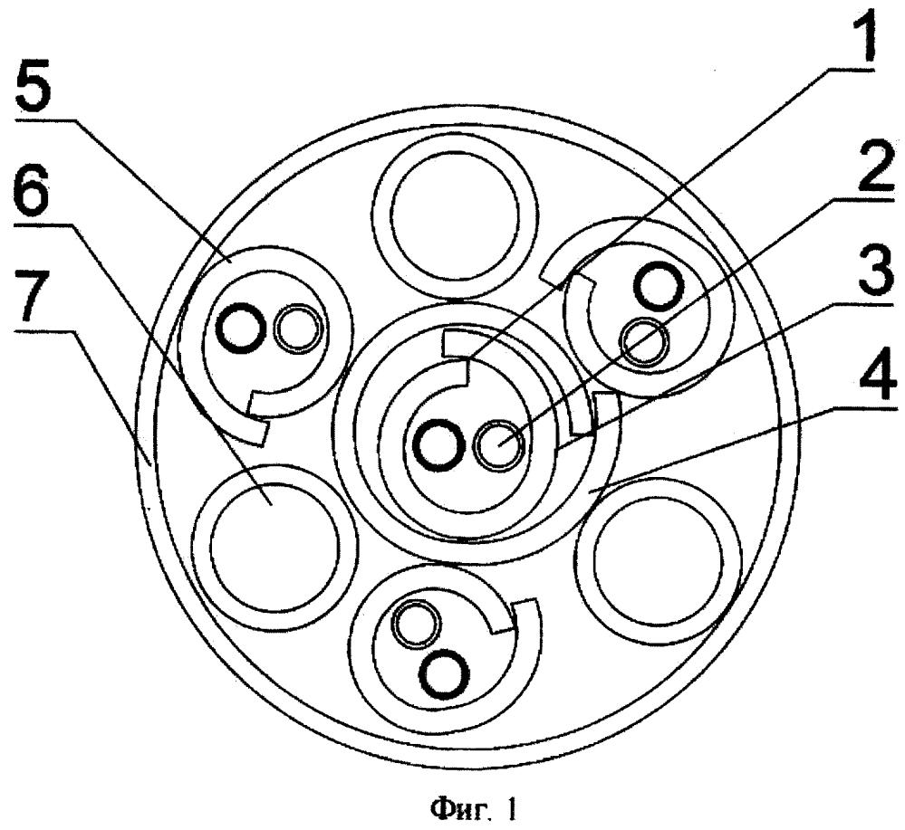 Неэкранированный симметричный четырехпарный кабель 6 категории