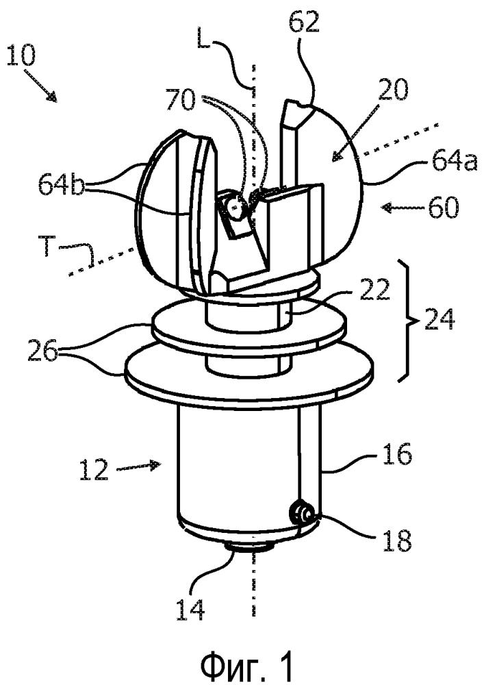 Светодиодное осветительное устройство с нижней теплорассеивающей конструкцией