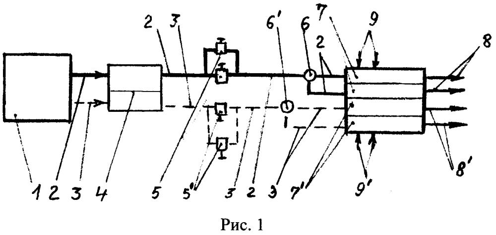 Способ комплексной очистки воздушного бассейна от производственных отходов/выбросов из труб