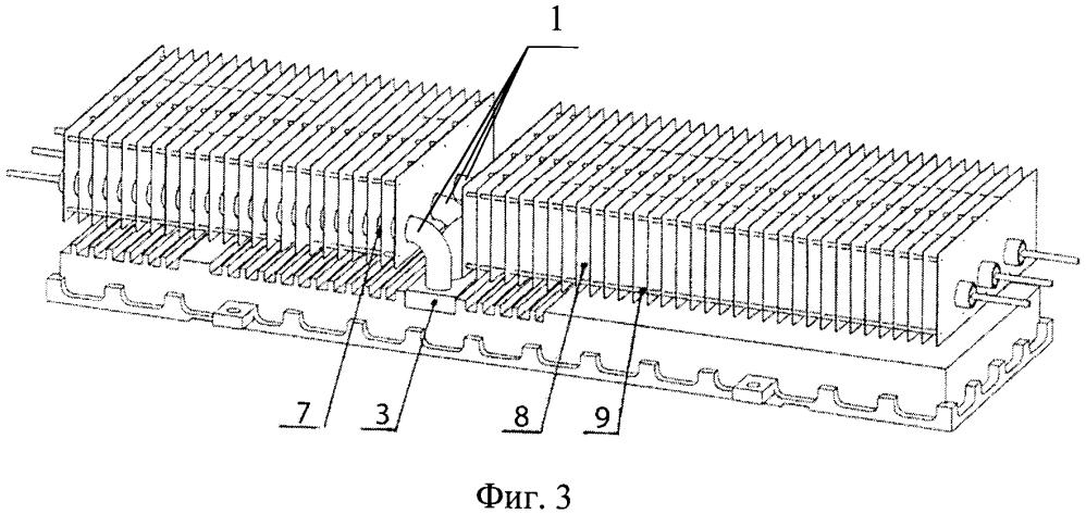 Пассивная система охлаждения радиоэлементов электронных блоков