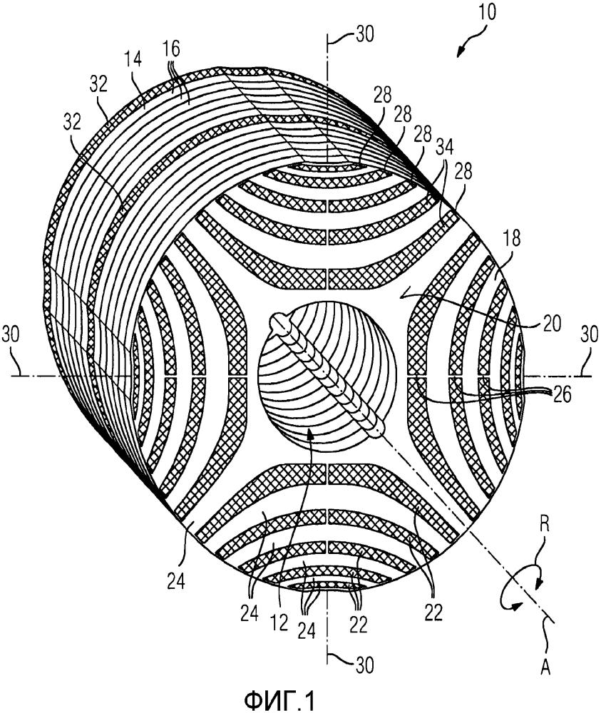 Реактивный электродвигатель, имеющий ротор повышенной устойчивости