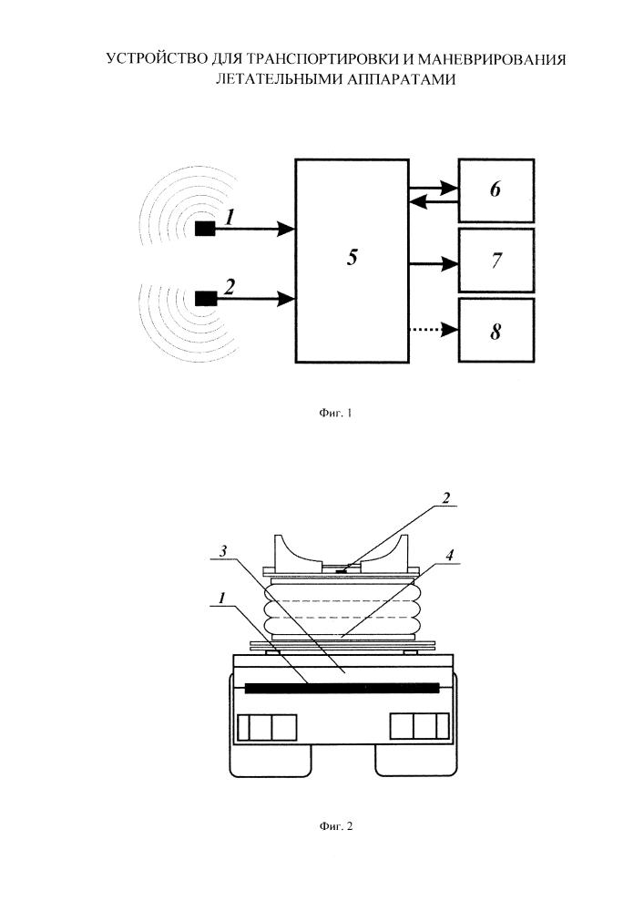 Устройство для транспортировки и маневрирования летательными аппаратами
