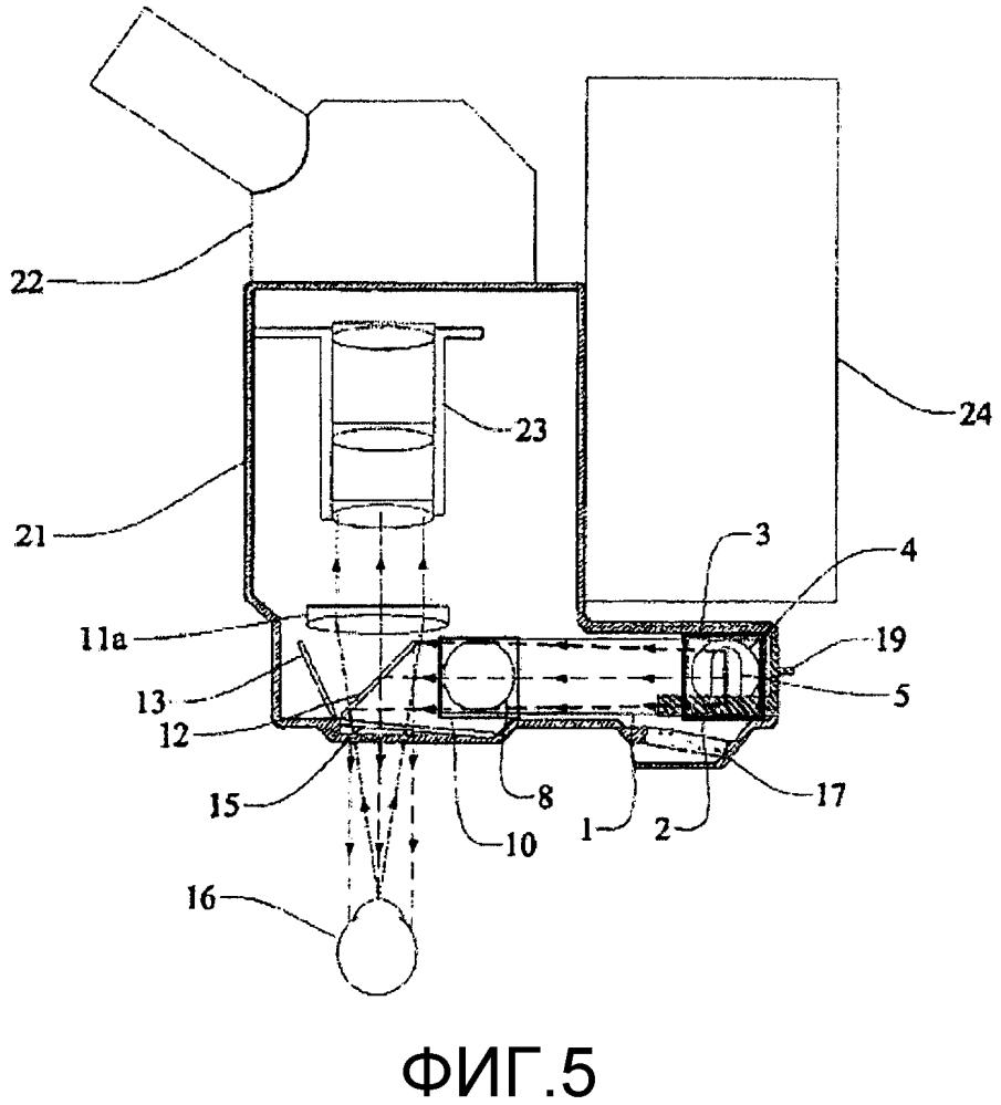 Отводимый светоделитель для микроскопа