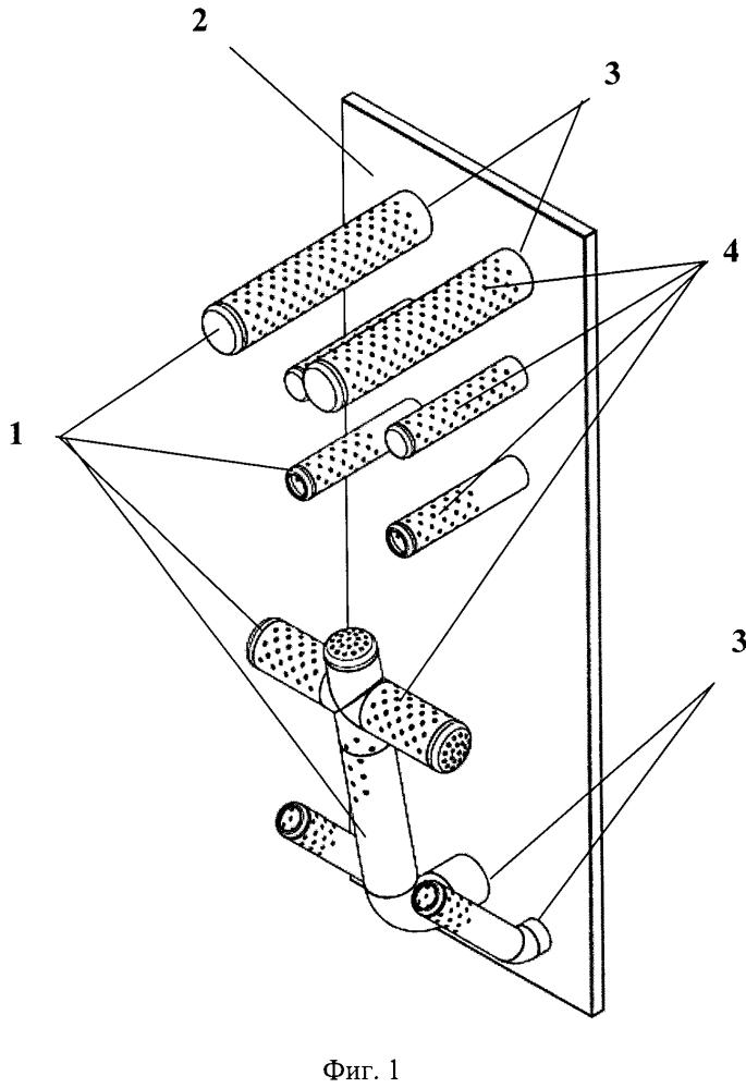 Устройство для распределения озона, применяемое в установке для дезинфекции постельных принадлежностей, одежды, обуви и экипировки различного назначения