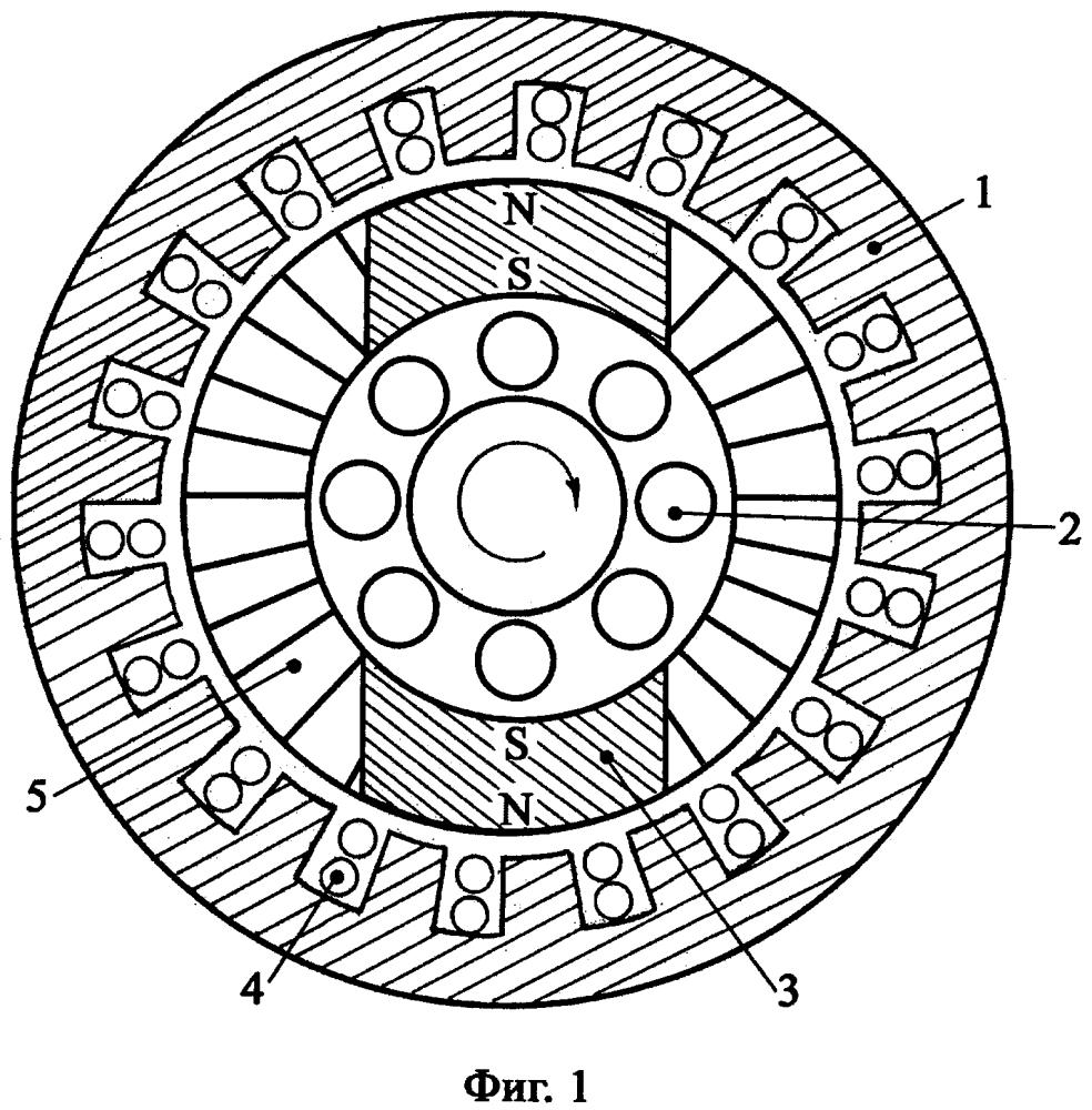 Устройство трехфазного асинхронного двигателя повышенной механической мощности