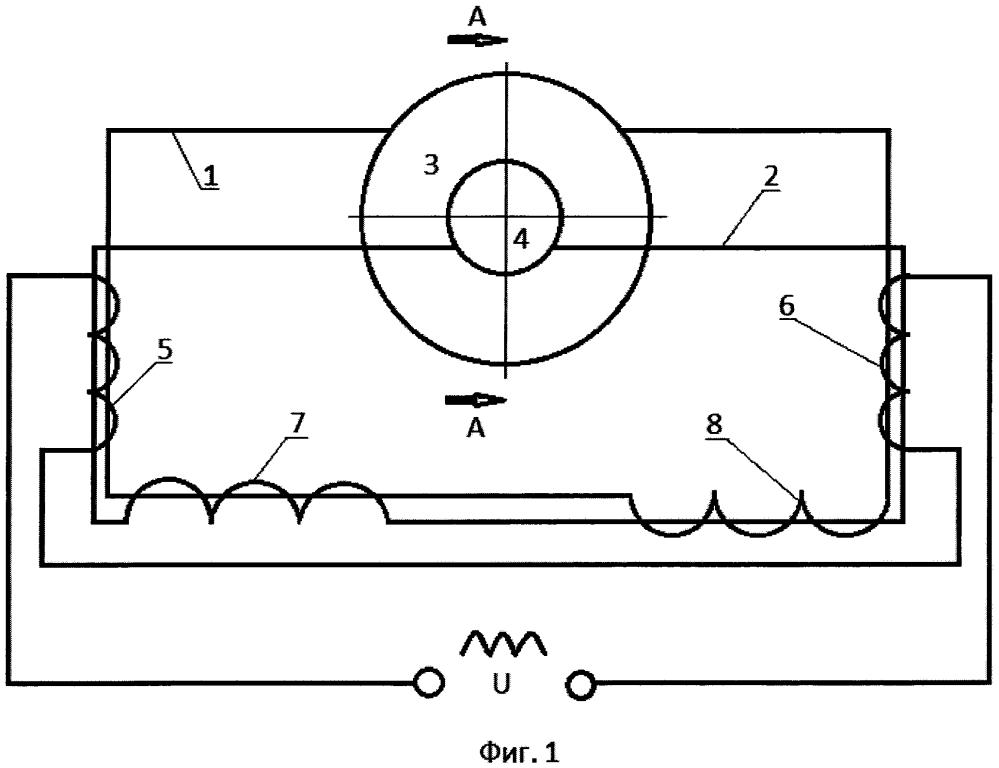 Низкочастотный излучатель электромагнитной энергии и способ его изготовления