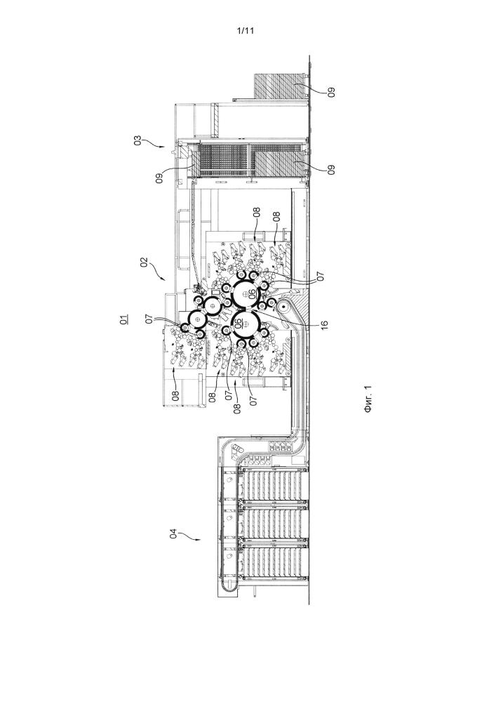 Способ монтажа печатных форм с точной приводкой на цилиндрах печатной машины с системой регулирования температуры