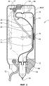 Выдачная система со средством для детектирования уровня жидкости и сжимаемый контейнер для такой системы