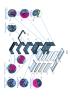 Набор для сборки универсального конструктива, предназначенного для установки в телекоммуникационный шкаф