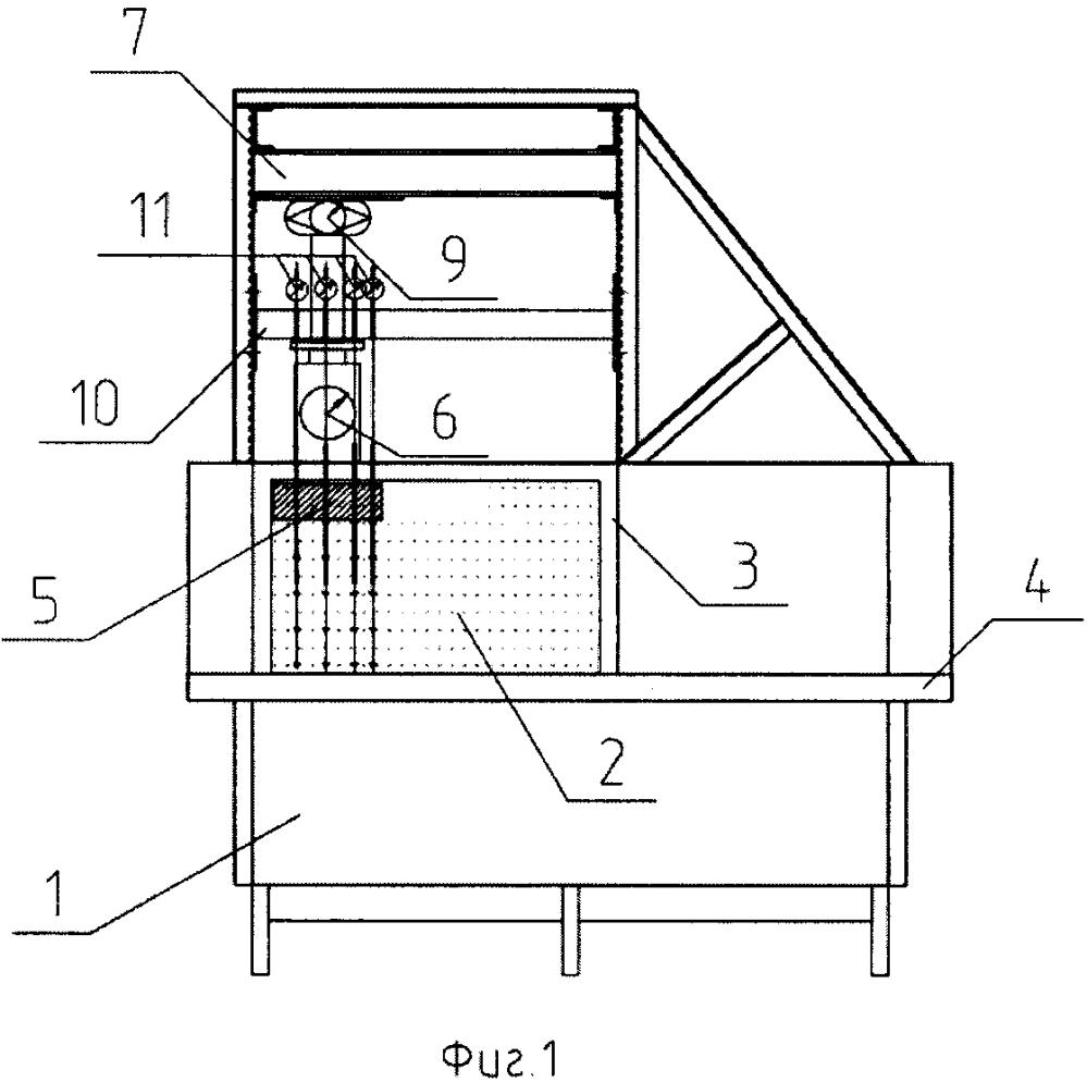 Установка для испытания грунтовых оснований маломасштабными моделями фундаментов