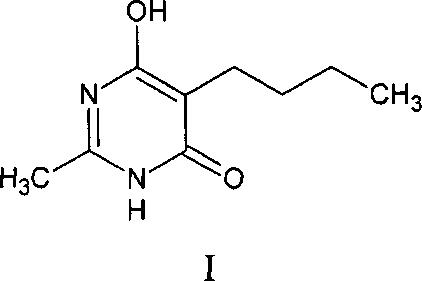 Анальгезирующее и противовоспалительное средство на основе 5-бутил-6-гидрокси-2-метилпиримидин-4(3h)-она