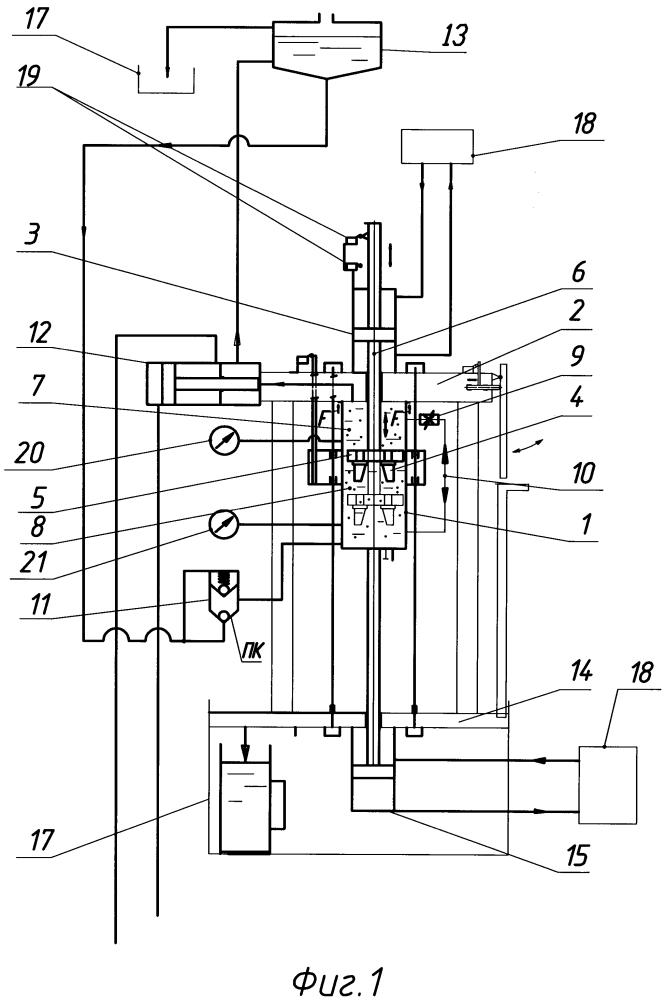 Установка для гидроабразивной обработки заготовок