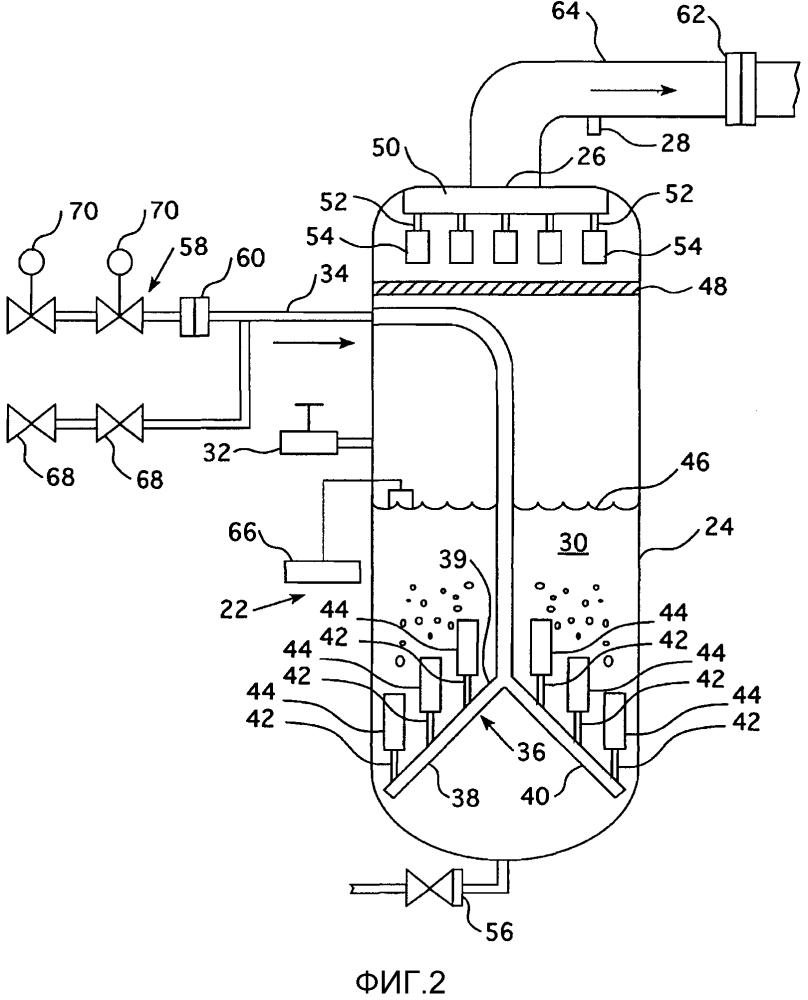 Фильтр для системы вентиляции защитной оболочки атомного реактора