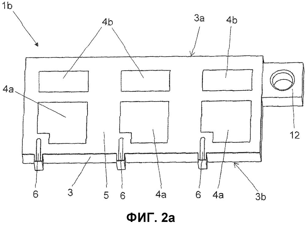 Печатная плата, в частности, для сильноточного электронного модуля, содержащего электропроводящую подложку