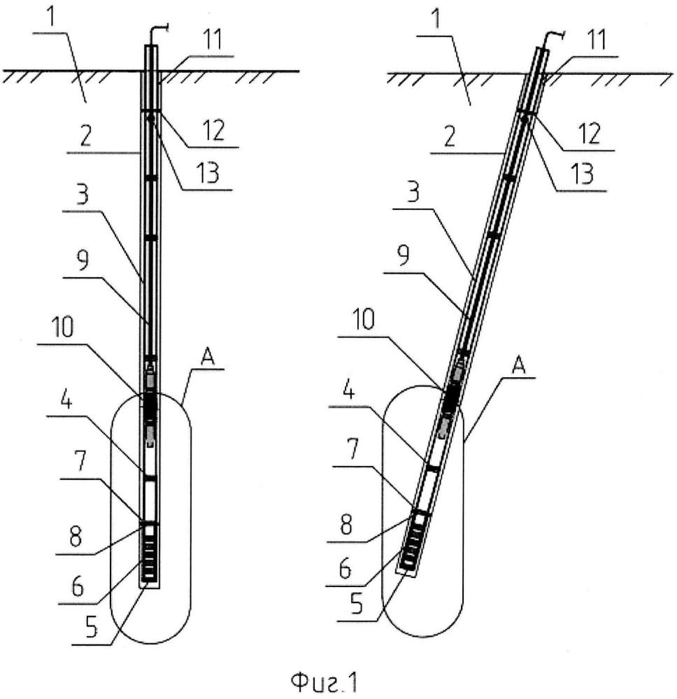 Способ изготовления буроинъекционной сваи с контролируемым уширением