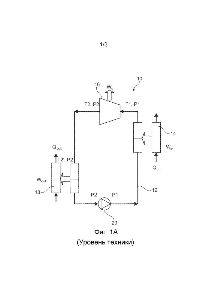 Усовершенствованный тепловой двигатель на основе органического цикла рэнкина