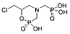 4-n-[(дигидроксифосфорил)метил]-6-(хлорметил)-1,4,2-оксазафосфоринан и способ его получения