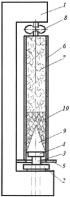 Стенд для исследования статического сопротивления выталкиванию забойки из взрывной скважины