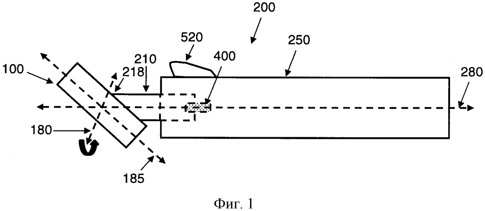 Соединение между рукояткой и головкой бритвенного прибора