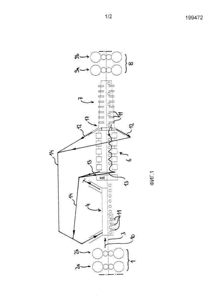 Способ и установка для предварительной обработки прокатываемого изделия перед горячей прокаткой