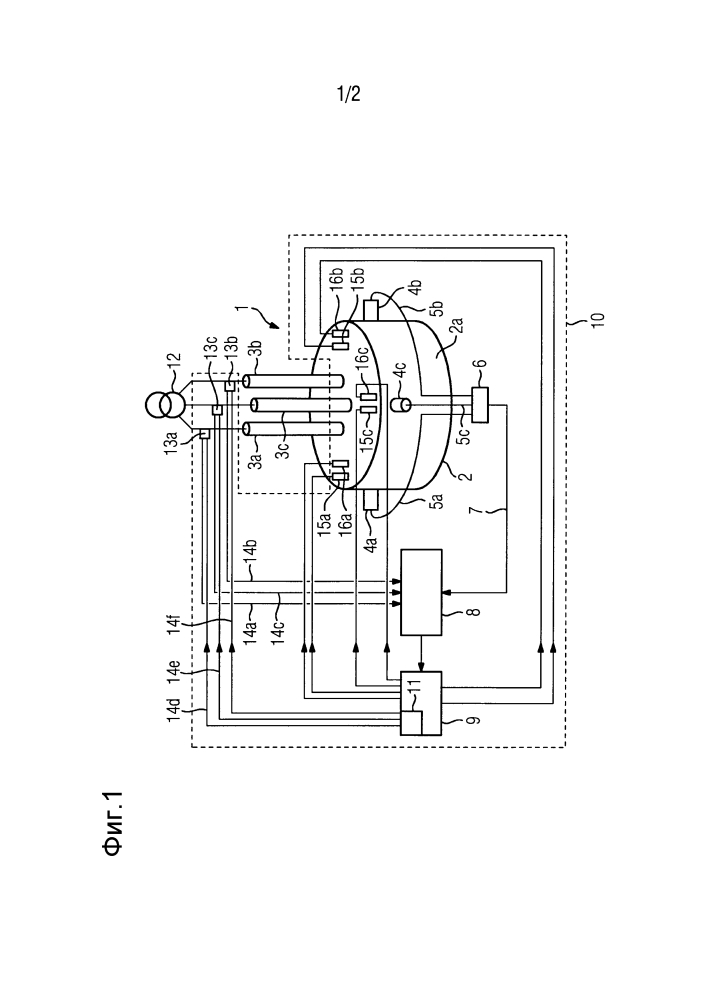 Способ регулирования длины электрической дуги в электродуговой печи, устройство для осуществления способа, а также электродуговая печь с таким устройством