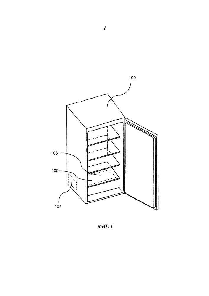 Холодильный аппарат с холодильной камерой