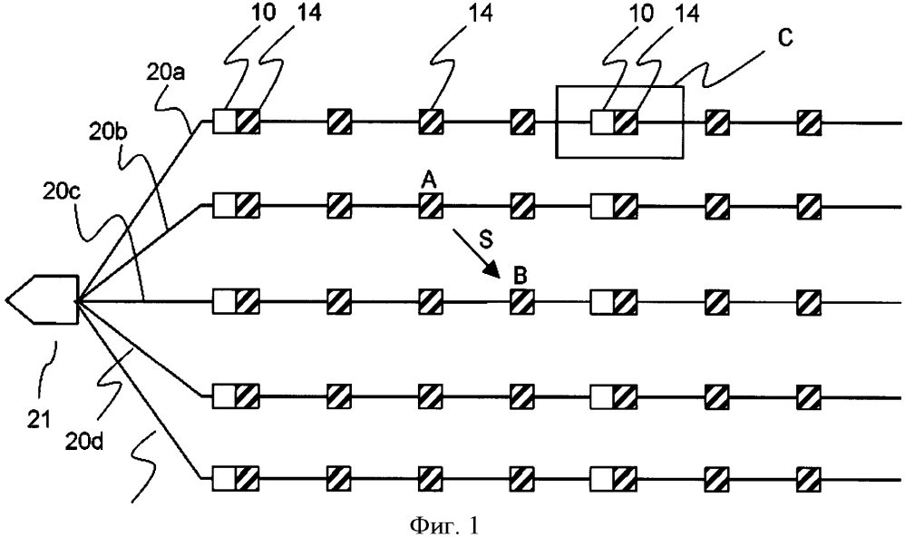 Способ и устройство для оценки межузлового расстояния между узлом передатчика и узлом приемника