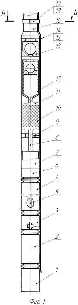 Установка электропогружного гидропоршневого насоса