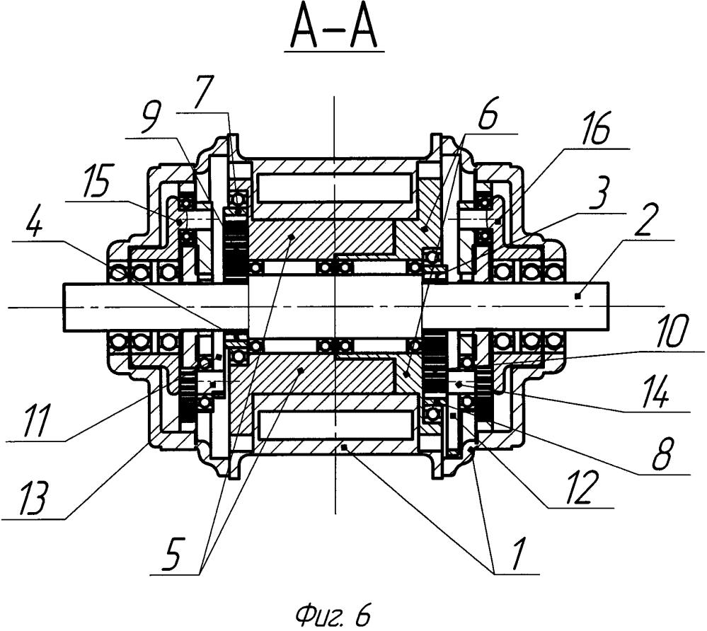 Механизм для преобразования неравномерного вращательного движения лопастей роторно-лопастного двигателя внутреннего сгорания в равномерное вращение вала