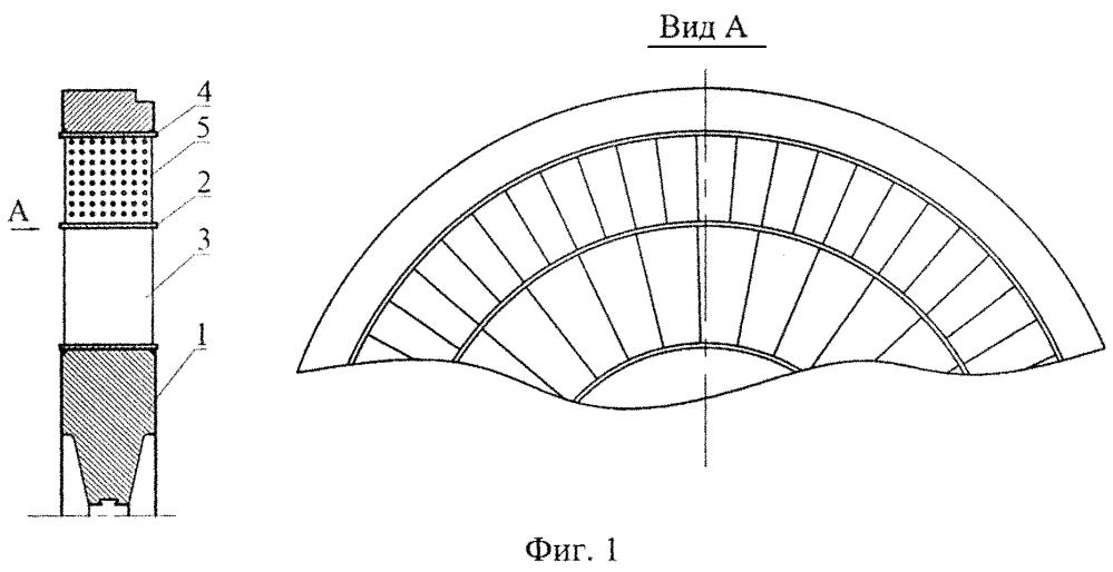 Диафрагма паровой турбины