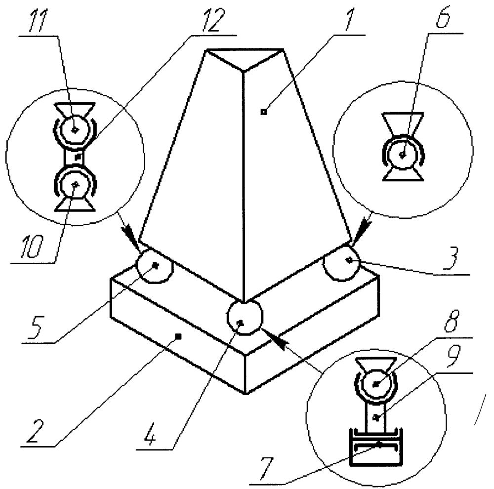 Система соединения деталей машин или элементов конструкций