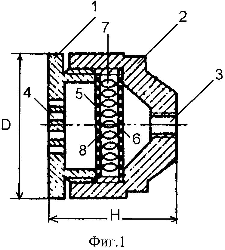 Аэродинамический глушитель выпуска типа клш