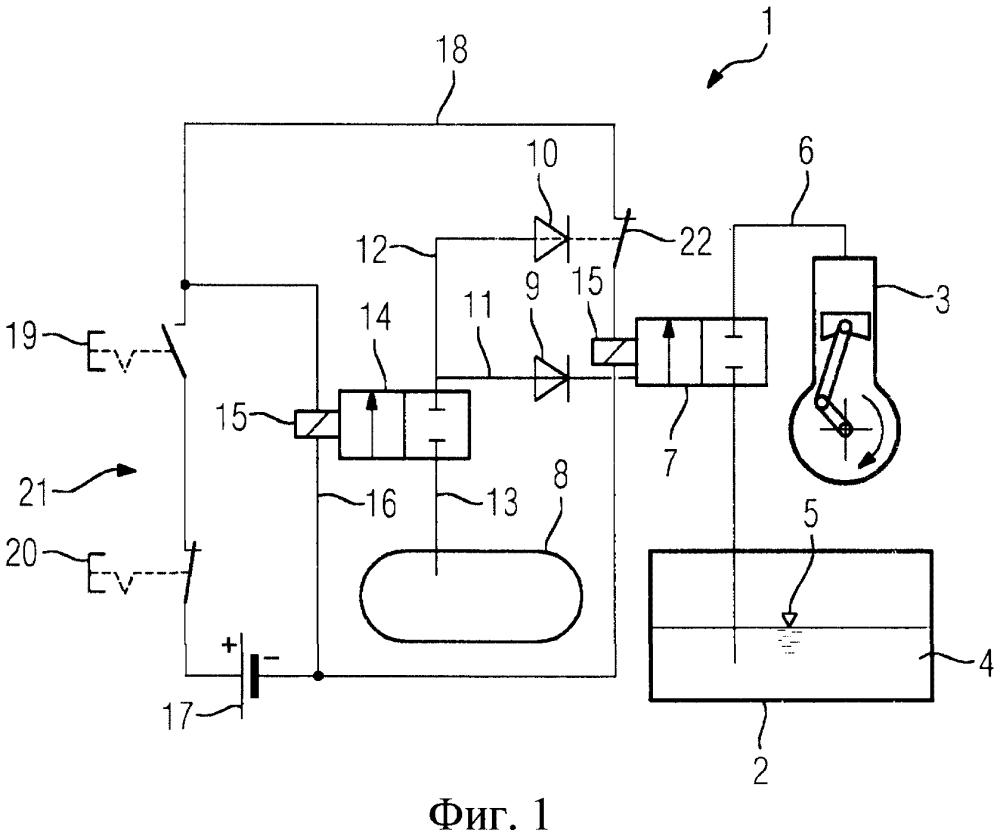 Пневматический аварийный запорный клапан