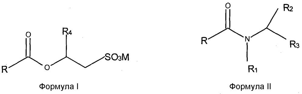 Смеси о-ацил-изетионатов и пав на основе n-ацил-аминокислот