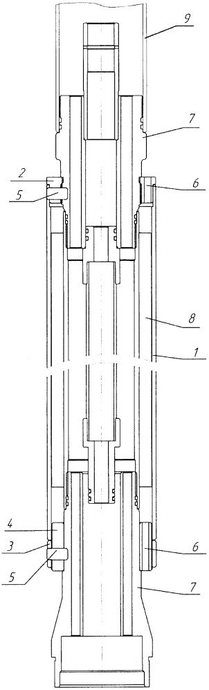 Малогабаритный кожух для устройства снижения температуры погружного электродвигателя