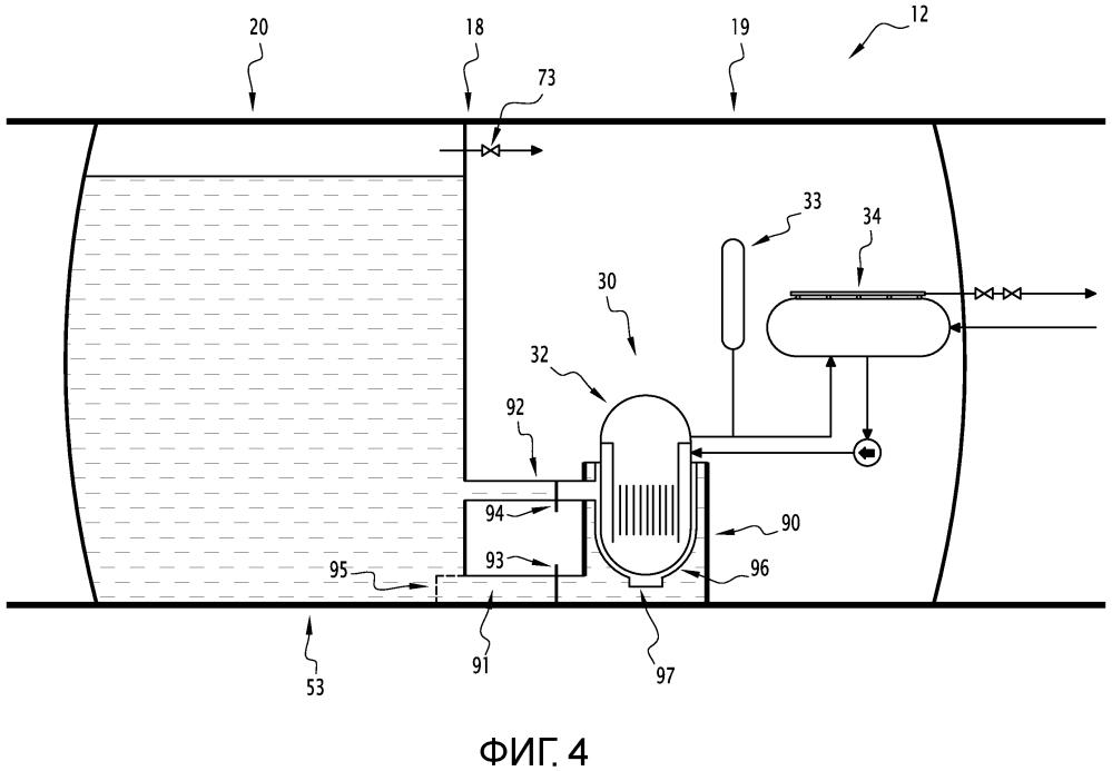 Погружной или подводный модуль для производства электрической энергии