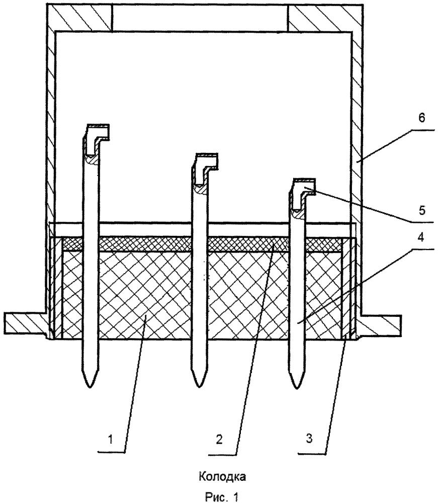 Герметичная колодка прецизионного высокотемпературного виброустойчивого прибора