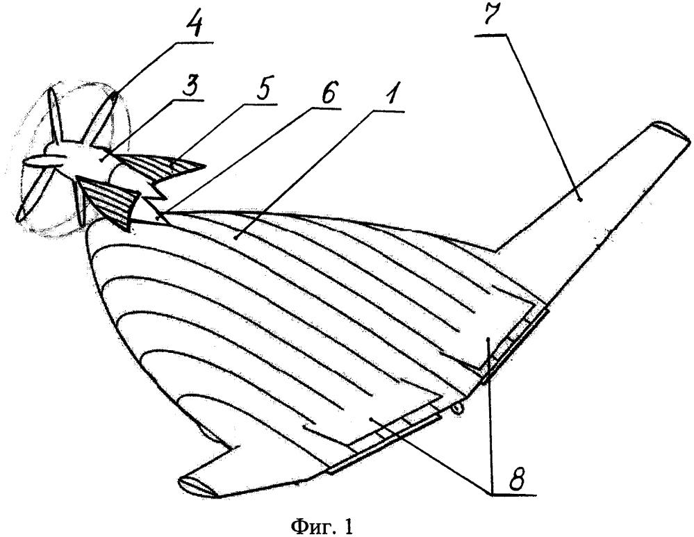 Беспилотный летательный аппарат короткого взлета и посадки