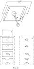 Установка для моделирования движения жидкости или газа на электропроводящей бумаге