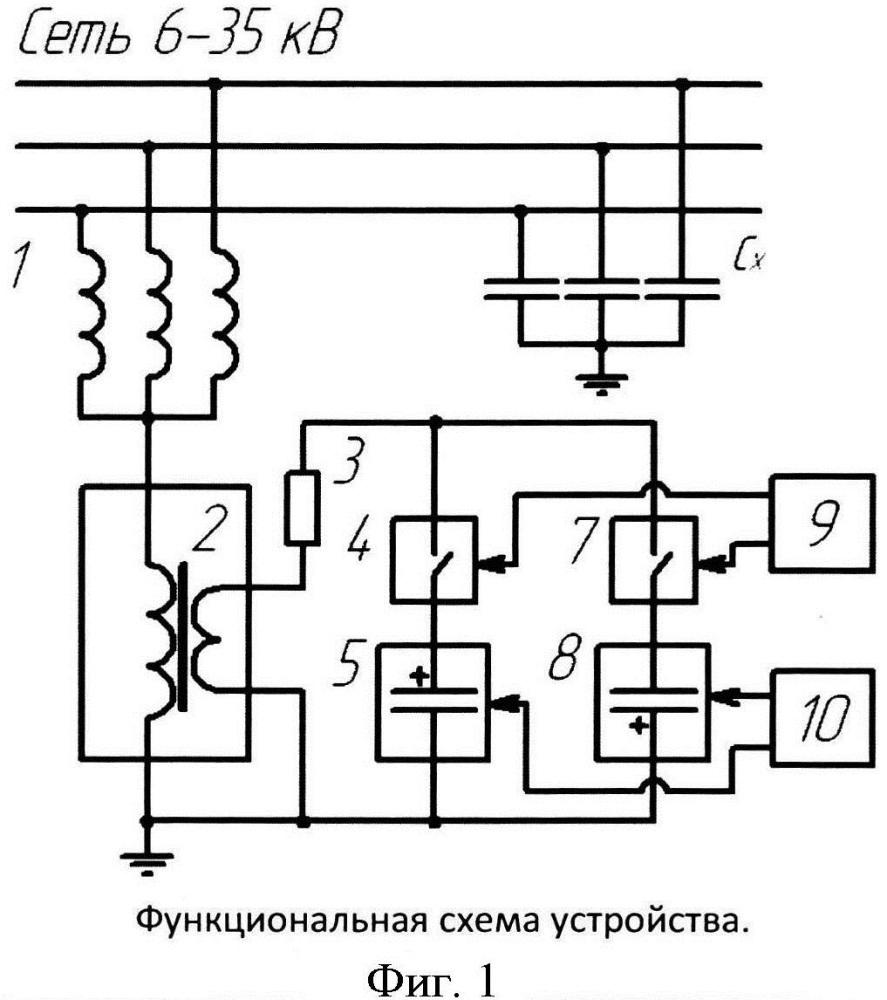 Устройство наложения контрольного тока