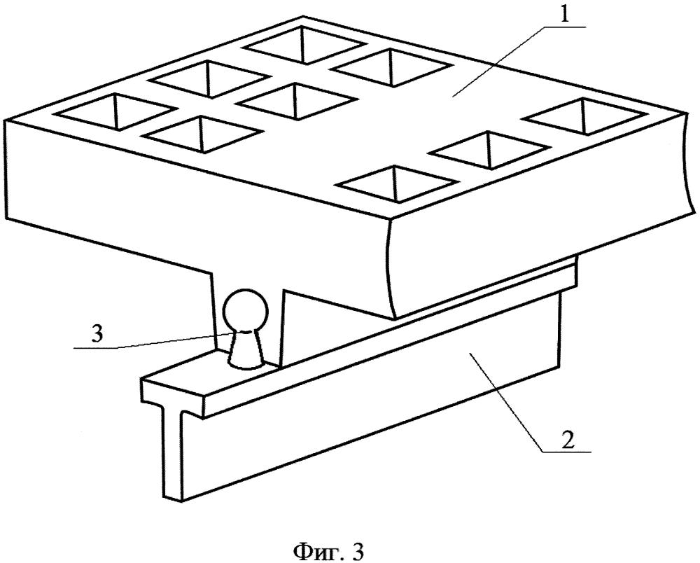 Способ крепления эластомерных модульных элементов на опорных поверхностях