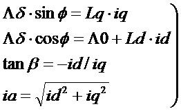 Способ управления первичным магнитным потоком