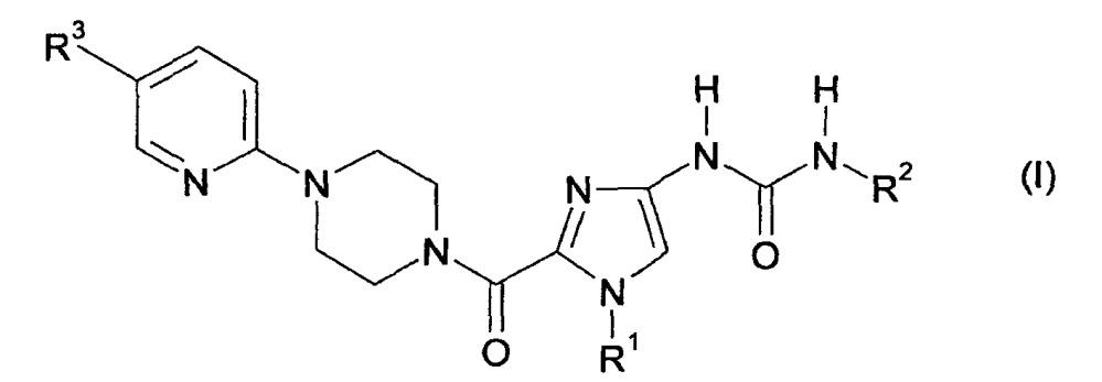 Соли гетероциклиламидзамещенных имидазолов с сульфоновой кислотой