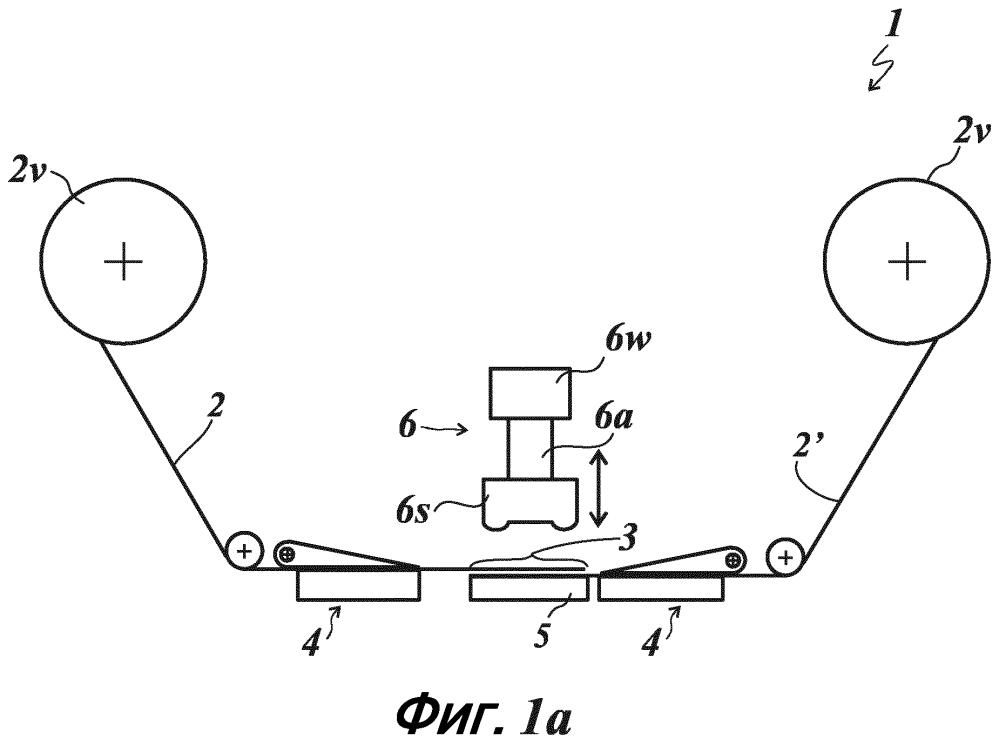 Способ и устройство для соединения пленочных полотен для переноса изображения или ламинирования