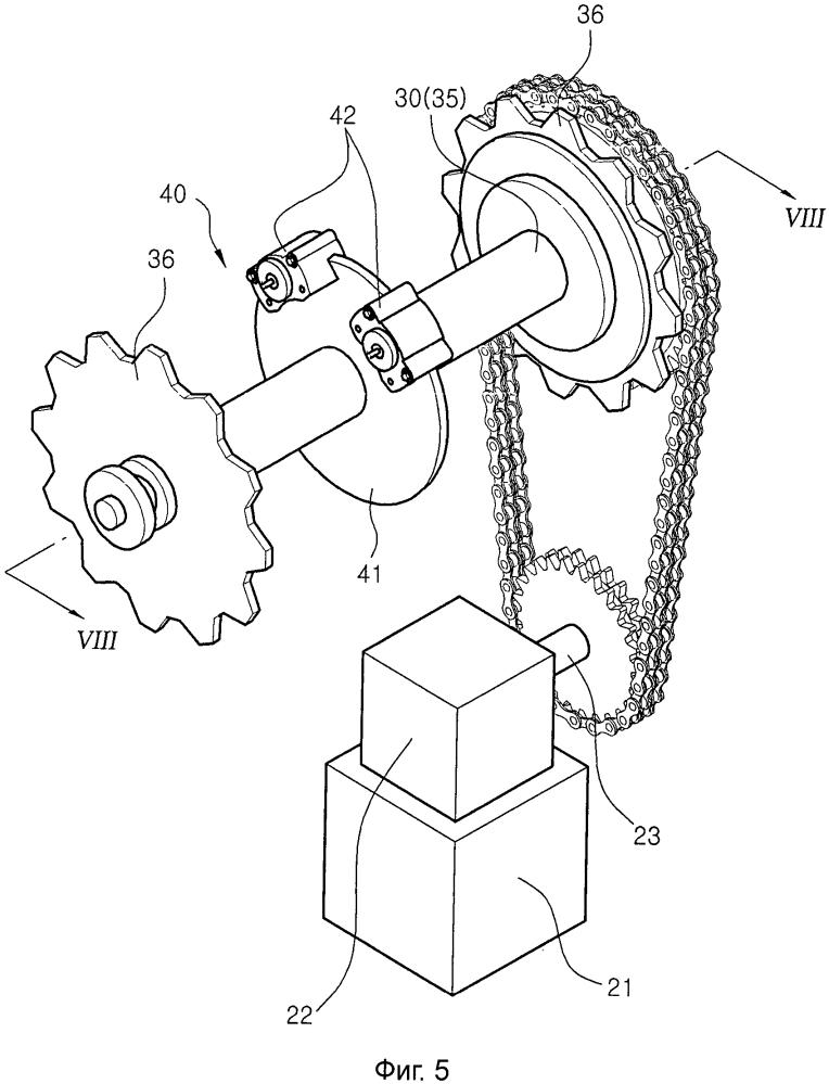 Вспомогательное тормозное устройство для предотвращения обратного хода и превышения допустимой скорости эскалатора