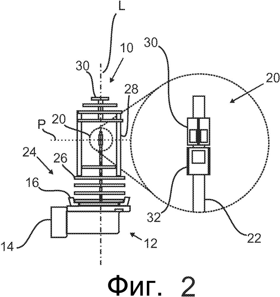 Светодиодное осветительное устройство с улучшенным распределением света