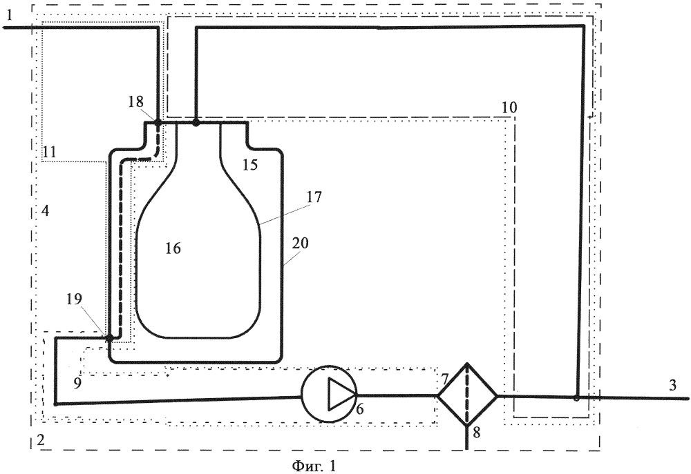 Система очистки жидкости