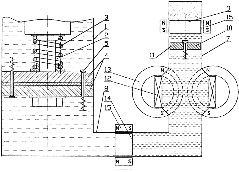 Гидравлический амортизатор с электрическим генератором